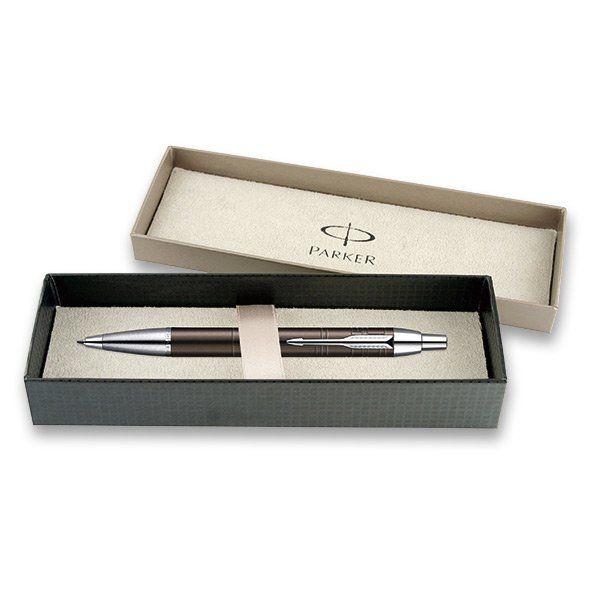 Parker IM Premium Deep Gun Metal Chiselled - kuličková tužka