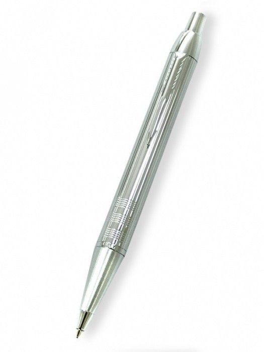Parker IM Premium Shiny Chrome Chiselled - kuličková tužka