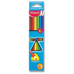 Pastelky Maped Color Peps - 6 barev