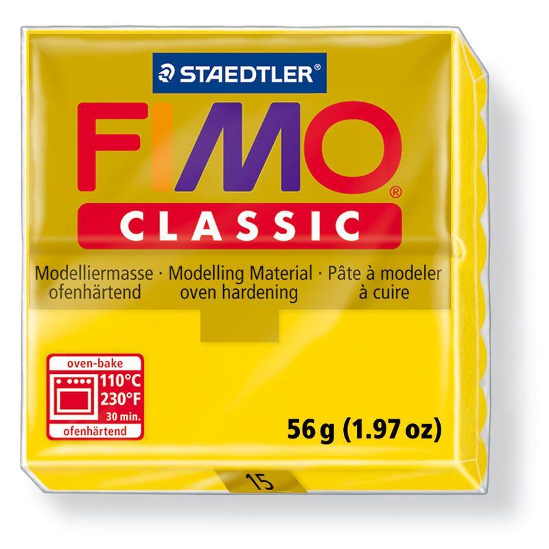 Fimo classic modelovací hmota 56g. - barva zlatavě žlutá
