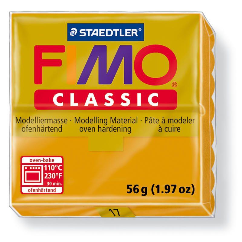 Fimo classic modelovací hmota 56g. - barva okrová