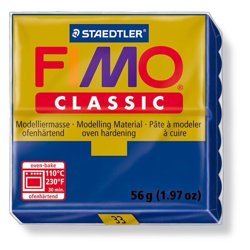 Fimo classic modelovací hmota 56g. - barva modrá
