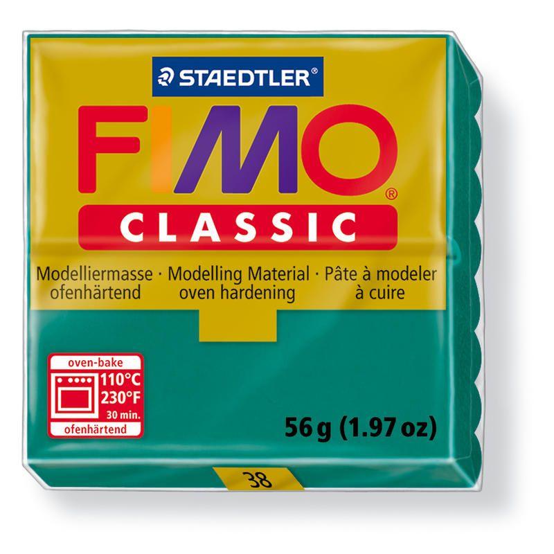 Fimo classic modelovací hmota 56g. - barva zelenomodrá