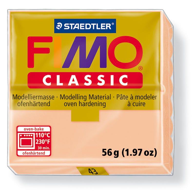 Fimo classic modelovací hmota 56g. - béžová