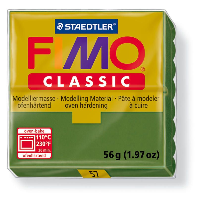 Fimo classic modelovací hmota 56g. - barva tmavě zelená