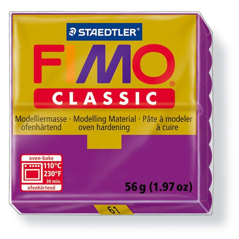 Fimo classic modelovací hmota 56g. - barva světle fialová