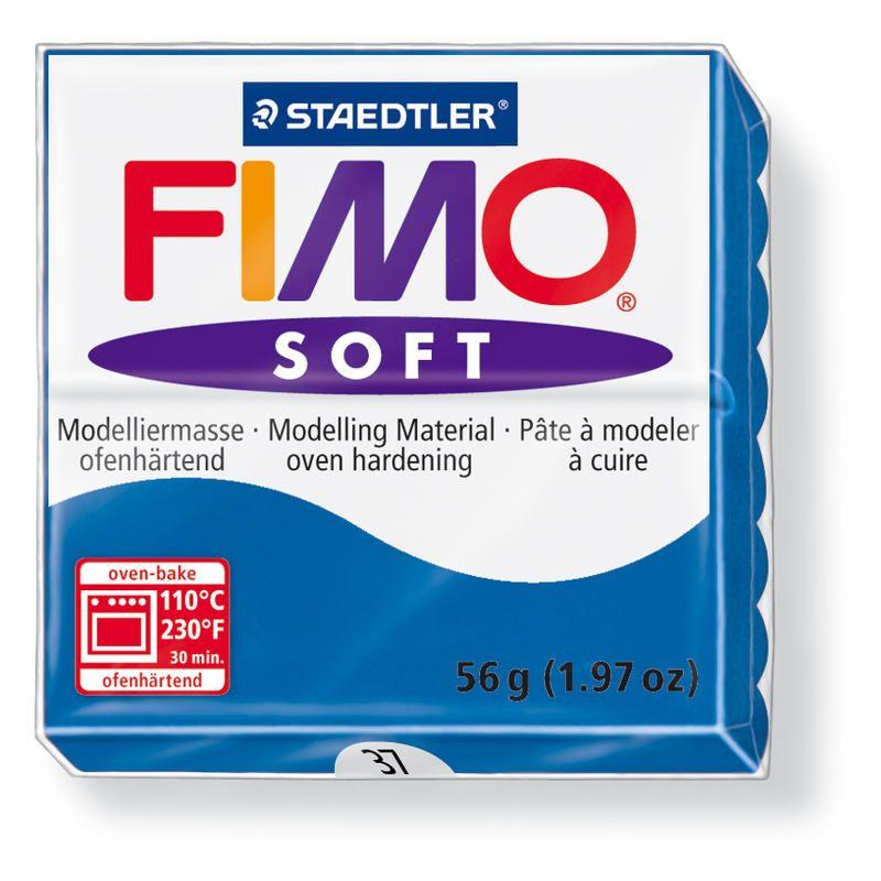 Hmota FIMO SOFT, 56 g, modrá