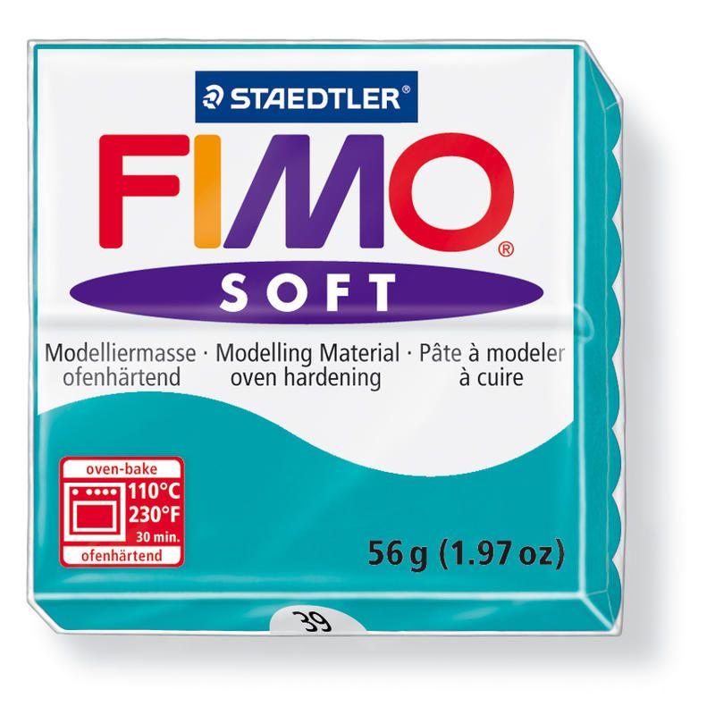 Hmota FIMO SOFT, 56 g, tyrkysová