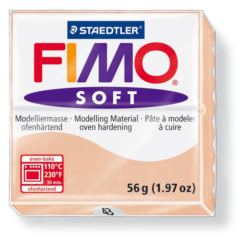 Hmota FIMO SOFT, 56 g, tělová