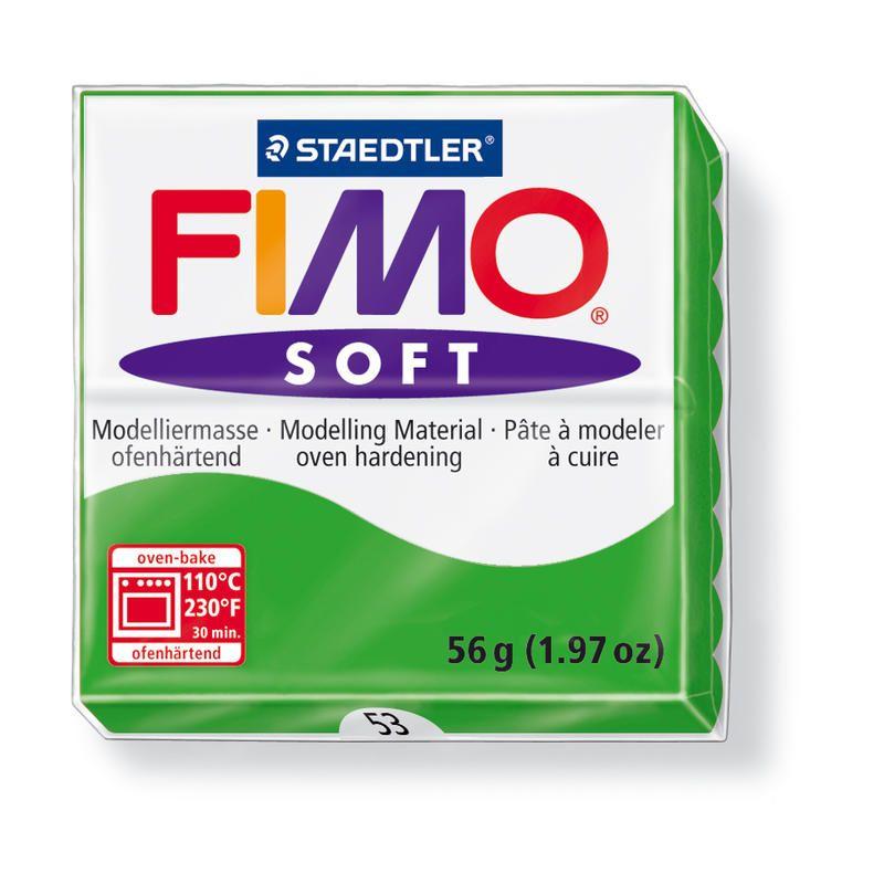 Hmota FIMO SOFT, 56 g, zelená