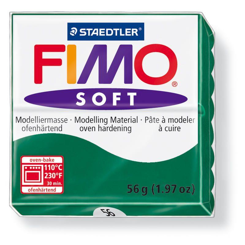 Hmota FIMO SOFT, 56 g, tm. zelená