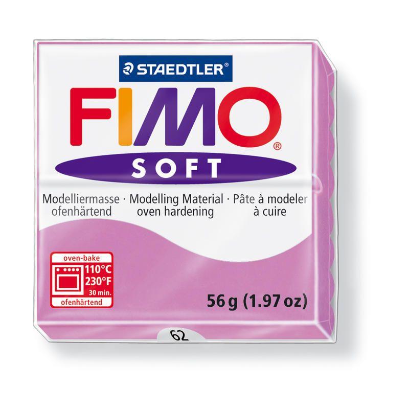 Hmota FIMO SOFT, 56 g, sv. fialová