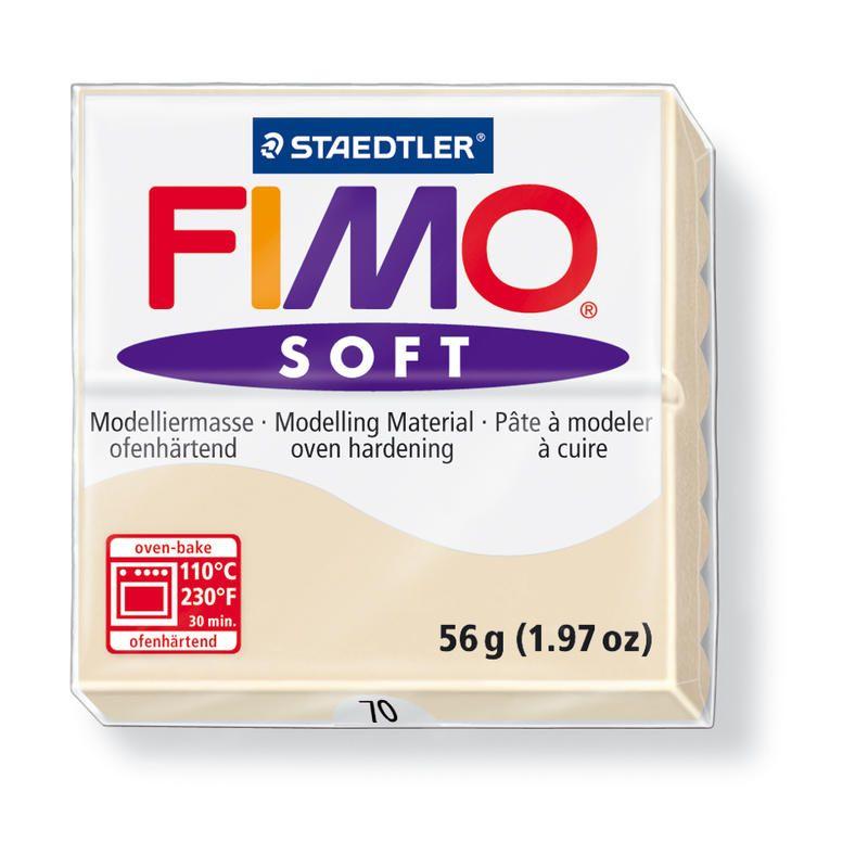 Hmota FIMO SOFT, 56 g, béžová