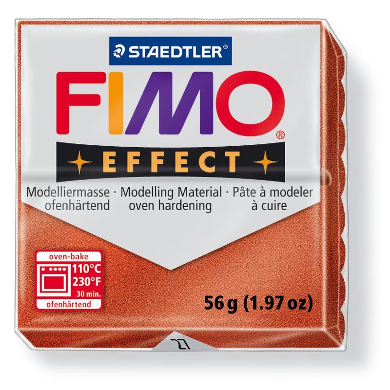 Hmota FIMO EFFECT, 56 g, měděná - metalická