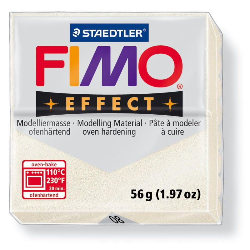 Hmota FIMO EFFECT, 56 g, perleťová - metalická