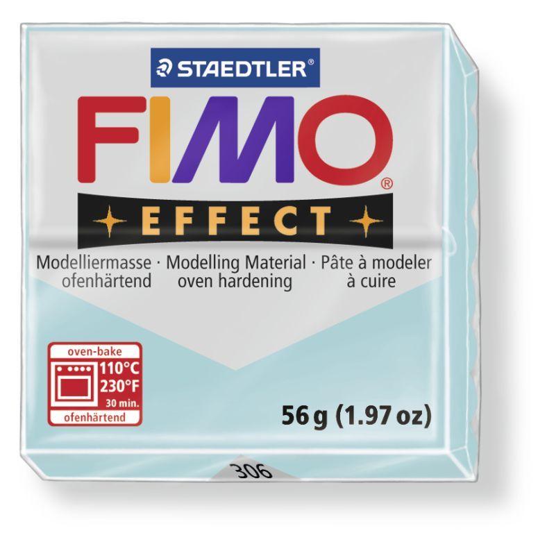 Hmota FIMO EFFECT, 56 g, ledové modrá - drahokamová