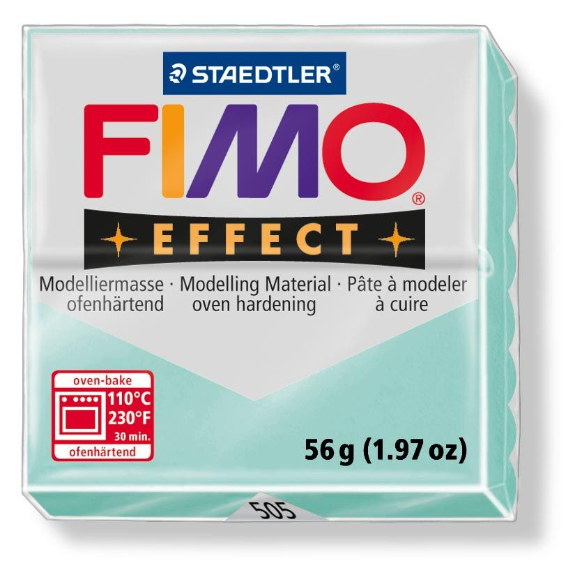 Hmota FIMO EFFECT, 56 g, máta - pastelová