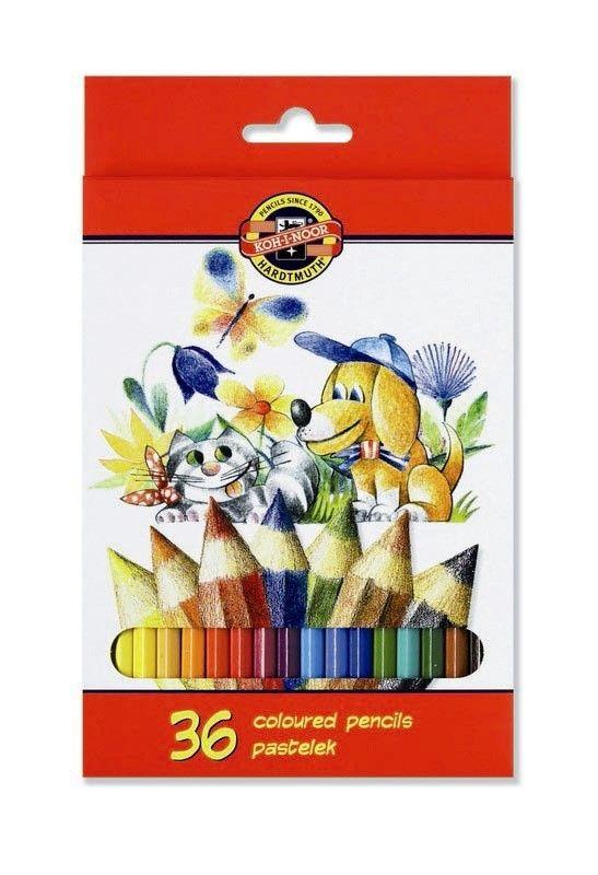 Pastelky 3585-36 školní