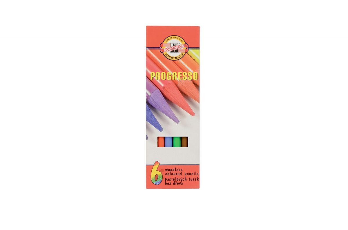 Pastelky 8755-6 PROGRESSO dlouhé