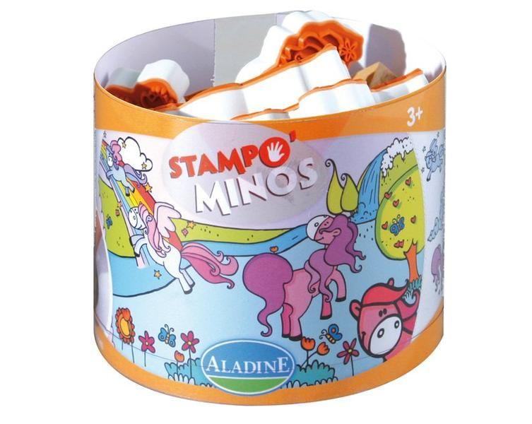 Dětská razítka StampoMinos, poníci