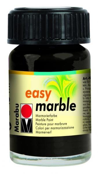 Maramorovací barva EASY MARBLE - 073 ČERNÁ