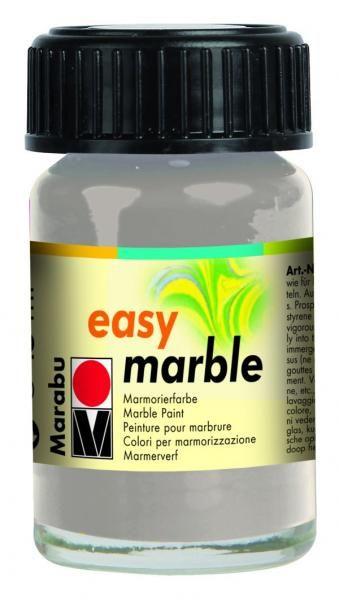 Maramorovací barva EASY MARBLE - 082 STŘÍBRNÁ