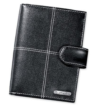 Herlitz diář A7 Elegance - černý