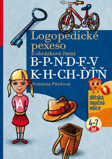 Logopedické pexeso B-P-N-D-F-V-K-H-CH